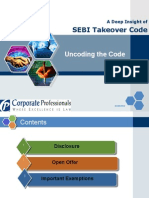 A Detail Insight of SEBI Takeover Code