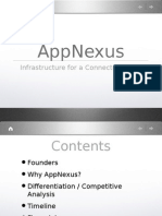 AppNexus Seed Round Pitch Deck