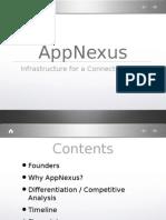 AppNexus Seed Round Pitch Deck