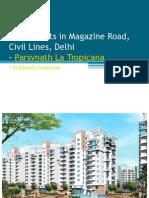 Luxury Flats in Magazine Road, Civil Lines, Delhi – Parsvnath La Tropicana