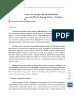 bREVE REFLEXIÓN EN TORNO A LOS PRINCIPIOS DEL ESPÍRITU ILUSTRADO