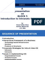 Presentation on Block 5 (E-Commerce) - 2nd Assignment