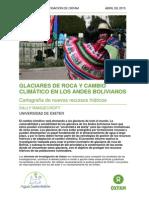 Glaciares de roca y cambio climático en los andes bolivianos