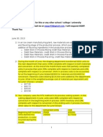 WGU CMO1 pre-assessment Cost Accounting 44 MCQs
