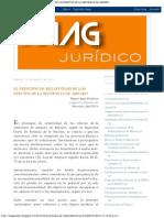 Jurídico m a G_ El Principio de Relatividad de Los Efectos de La Sentencia d