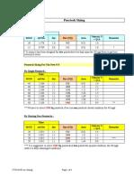 Calculation of Pentock Size