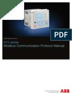 615 Series Modbus Communication Protocol Manual_M