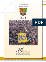 St Henry's Yearbook 2014