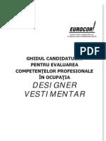 Ghid Informativ Designer Vestimentar