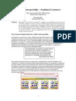 Workflow Interoperability Enabling E-Commerce