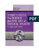 The Science and Fine Art of Natural Hygiene - Herbert M. Shelton