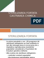 STERILIZAREA FORTATA
