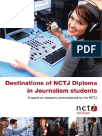 NCTJ Destinations Diploma Report