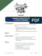 Trainer Qualities