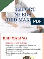 Patient.comfort.needs.bedmaking