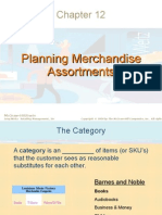 Planning Merchandise Assortments