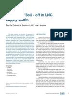 LNG ship Boil off Gas