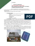 Efectul Fotovoltaic Fise de Laborator