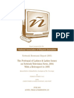 2005 NAHJ Network Brownout Report