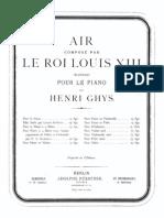 Louis XIII - Ghys Air