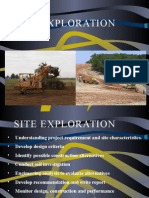 Site Exploration