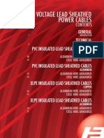 LV Lead Sheathed Cables