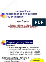 Diagnosis Approach and Management of Non Cyanotic CHD