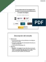 Presentación Encuesta Profesionales de TI sobre mujres y profesion