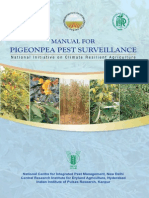 Manual for Pigeonpea Pest Surveillance