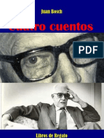 CUENTOS DE JUAN BOSCH, SELECCIÓN Y PRESENTACIÓN POR AQUILES JULIÁN