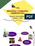 Medicina y Farmacia Homeopática