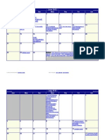 2015 Siirch Landscape Funding Calendar