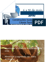 1- Palestra - Construções Sustentáveis