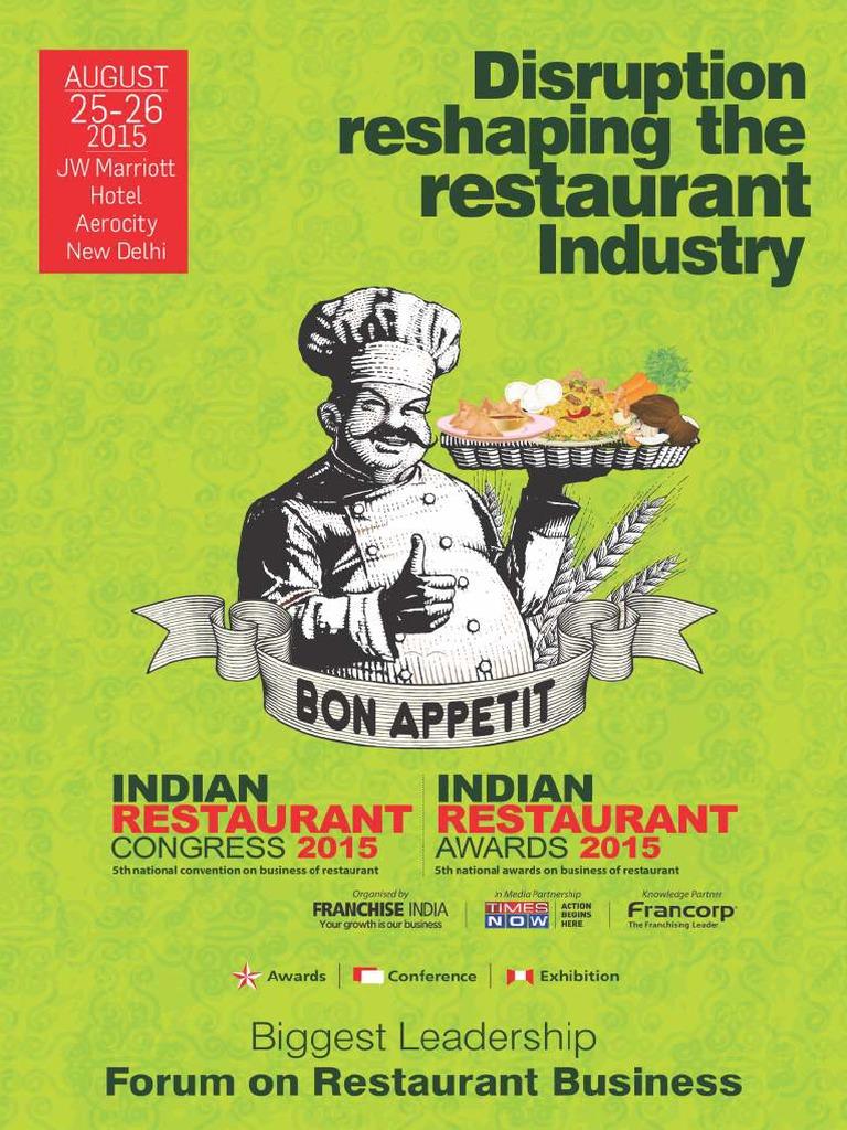 Indian Restaurant Brochure