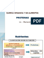 quimica de alimentos proteinas