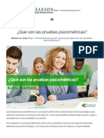 ¿Qué Son Las Pruebas Psicométricas_ _ Pearson