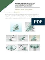 Orient-catalogue for Glass Insulators