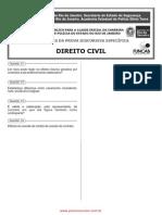 Prova Discursiva Direito Civil