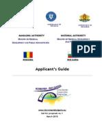 Applicant's Guide RO BG cross border