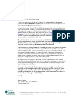 Evidence-Based Policymaking Commission Act of 2015 Letter to Congress