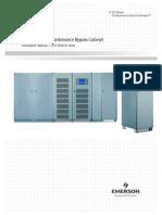 Emerson Nxl - Maintenance Bypass Cabinet