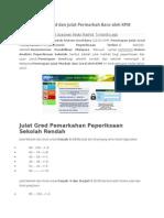 Sistem Gred dan Julat Permarkah Baru oleh KPM.docx