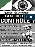 Contre la Loi Renseignement - Affiche 1