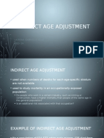 Indirect Age Adjustment, Cohort Effect, Interpreting observed changes in mortality