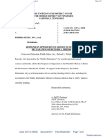 Word Music, LLC et al v. Priddis Music, Inc. et al - Document No. 67