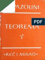 Teorema - Pier Paolo Pasolini