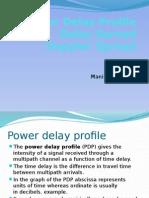 powerdelayprofiledelayspreadanddopplerspread-130219233508-phpapp01