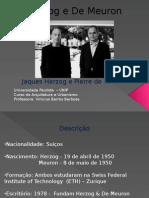 Herzog e de Meuron Pronto