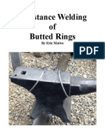 Resistance Welding of Butted Rings