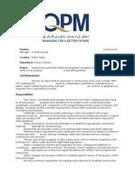 QPM - Construction Manager - Civil Structural